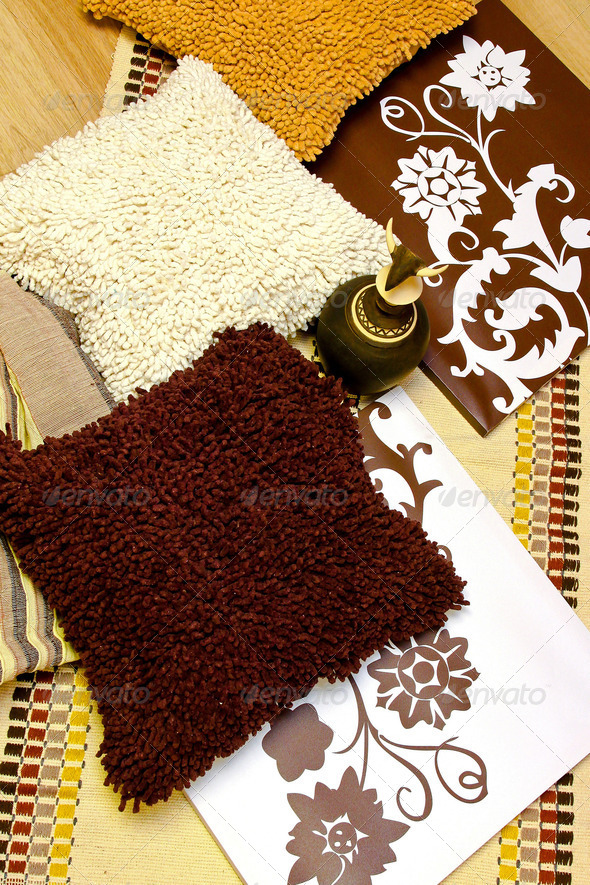 Brown decor - Stock Photo - Images