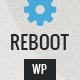 Reboot - Responsive Bootstrap HTML5 Portfolio