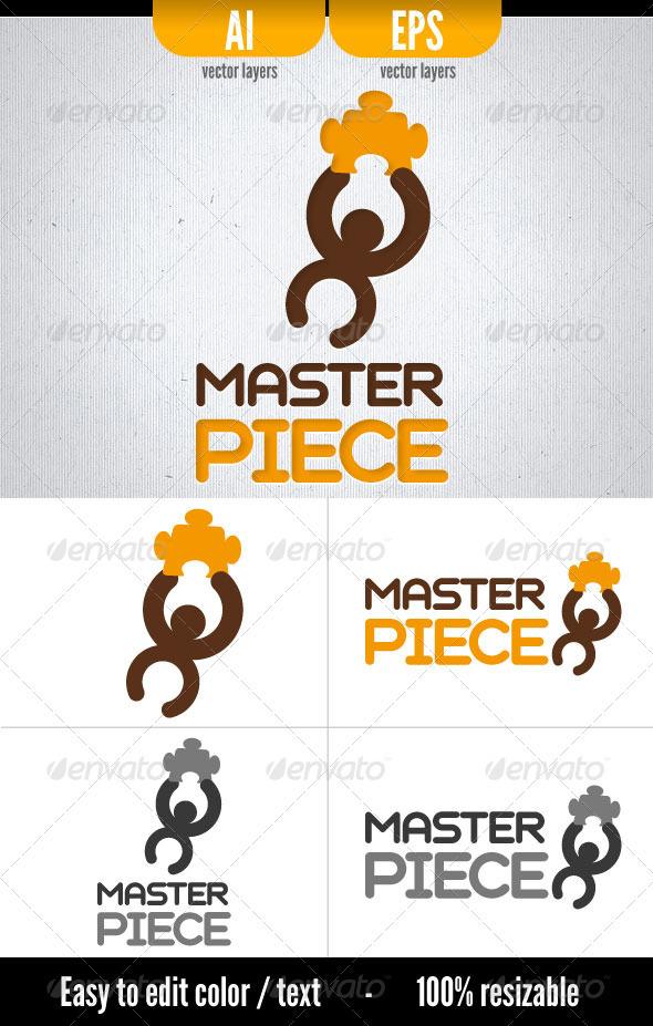 Master Piece Logo Template