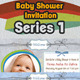 Colorfull Baby Shower Invitation Series 1 - GraphicRiver Item for Sale