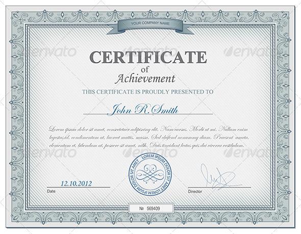 Certificate templates psd psd certificate template certificate templates yadclub Image collections