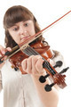Teenage girl playing Viola - PhotoDune Item for Sale