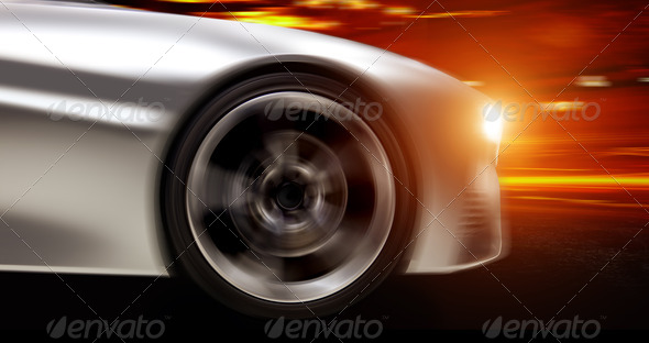 Futuristic Car - Stock Photo - Images