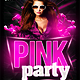 Pink Party Flyer  - GraphicRiver Item for Sale