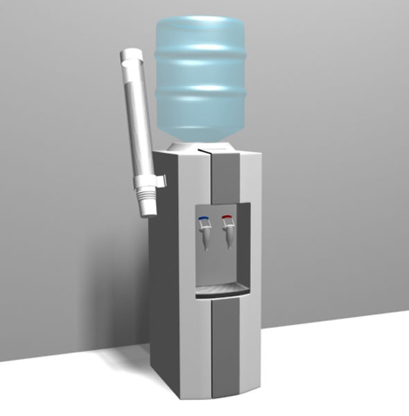 Water Dispenser - 3DOcean Item for Sale