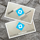 Clean Interior Design Business Card - GraphicRiver Item for Sale