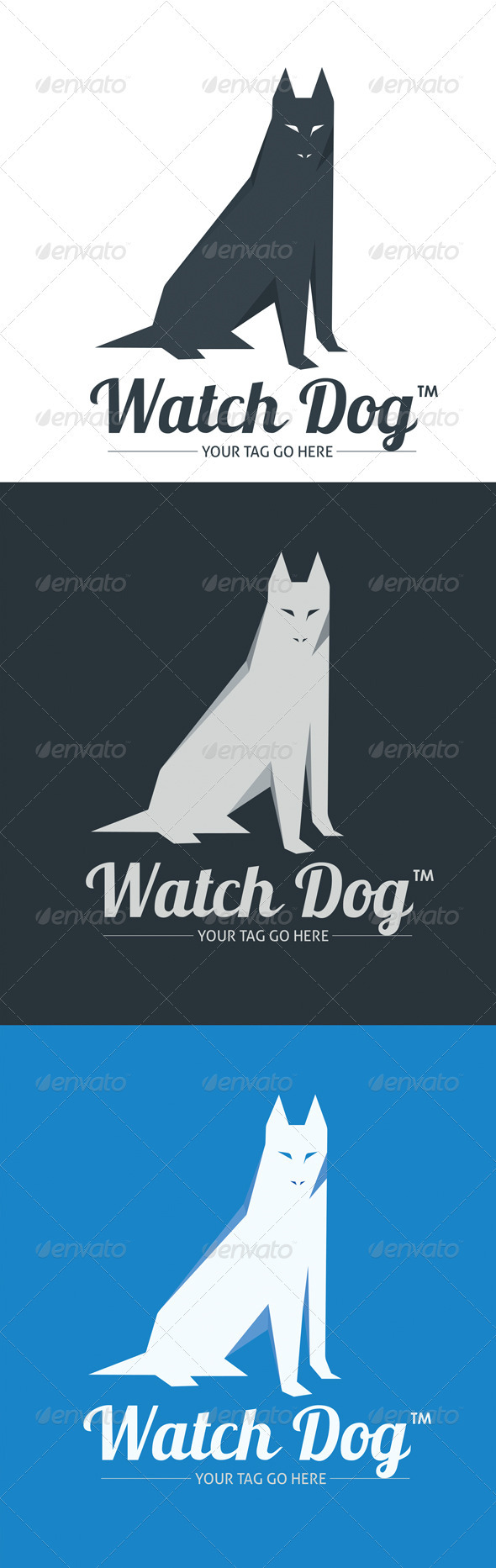 Watch-Dog - Animals Logo Templates