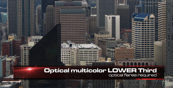 After Effects Project - VideoHive HD Optical Lower Third 6 in 1 97467