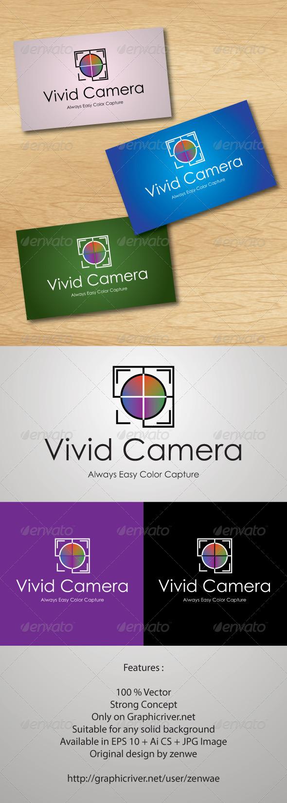 Camera Company Logo Vivid camera logo - abstract