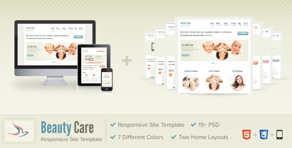 ThemeForest Beauty Care 2642928