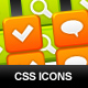 Resizable CSS sprite icons - GraphicRiver Item for Sale