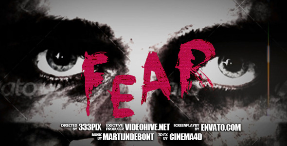After Effects Project - VideoHive Fear Trailer 2685072