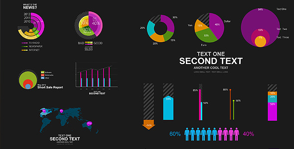After Effects Project - VideoHive Rapid Infographics Elements 2680481