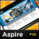 Aspire - Premium PSD - Blog + Portfolio Template - ThemeForest Item for Sale