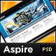 Aspire – Premium PSD – Blog + Portfolio Template  Free Download