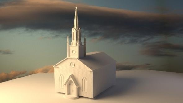 3DOcean church 2698138