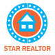 Star Realtor Logo Template - GraphicRiver Item for Sale