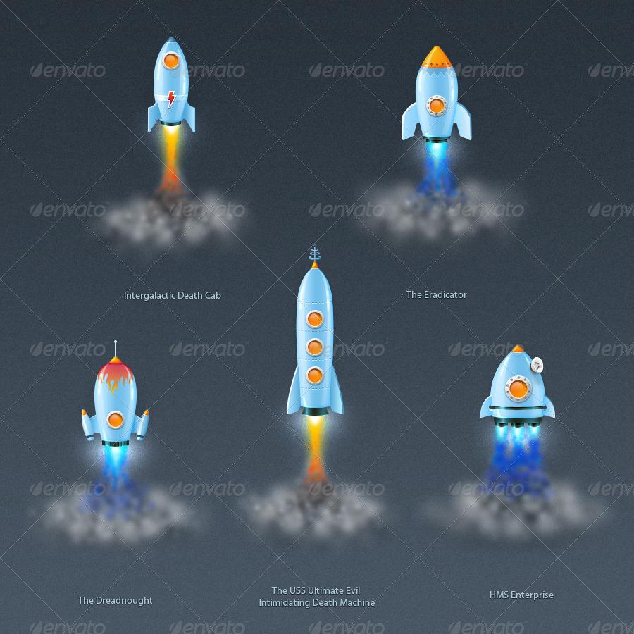 Rocket Ships