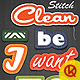 Clean Stitch - GraphicRiver Item for Sale