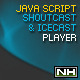 PHP-Javascript Shoutcast and Icecast