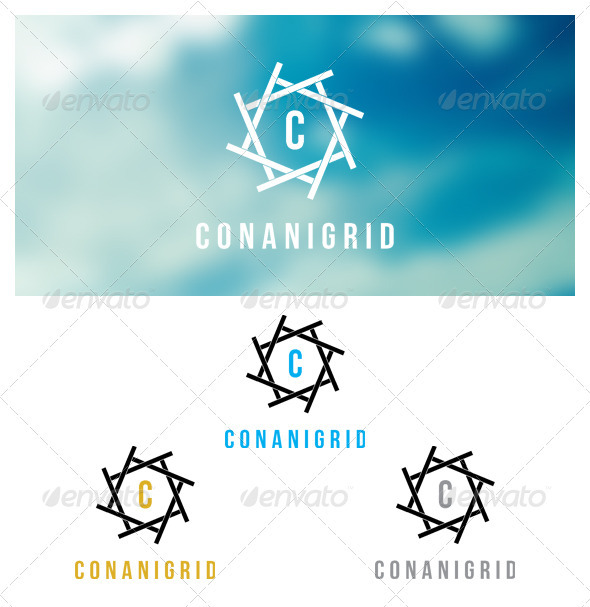 Conanigrid - Crests Logo Templates