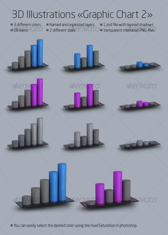 Graphic chart 2 - Business Illustrations