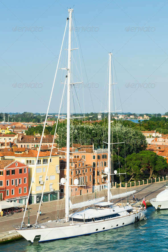sailing boat - Stock Photo - Images