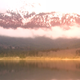 Lake And Snow Covered Mountain With Clouds 2 - VideoHive Item for Sale