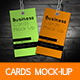 Business Cards Mock-Up - GraphicRiver Item for Sale