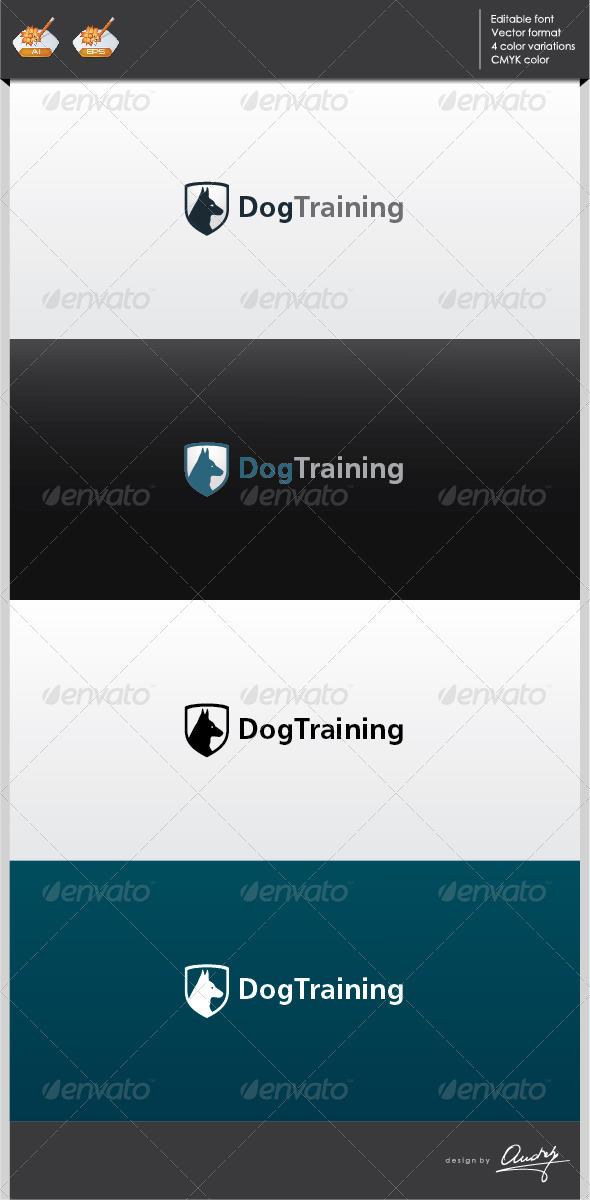 GraphicRiver Dog training logo template 2701180
