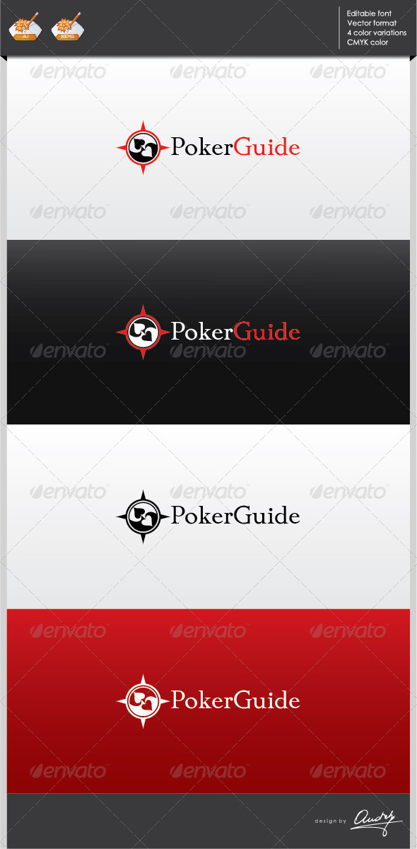 GraphicRiver Poker guide logo template 2702276