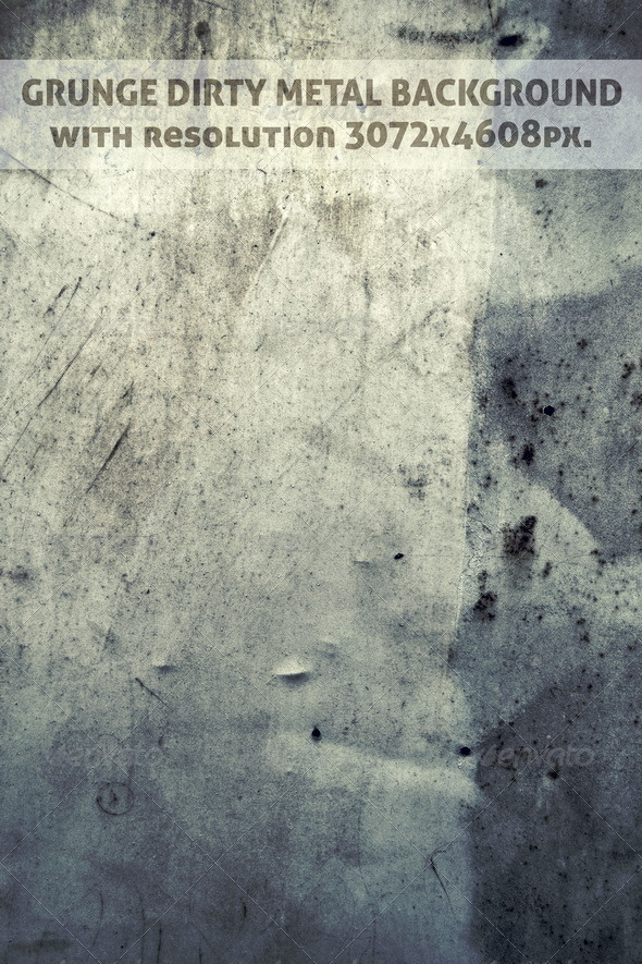 Grunge Dirty Metal Background - Urban Backgrounds