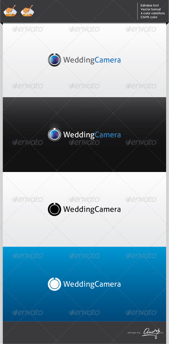 GraphicRiver Wedding camera logo template 2702322