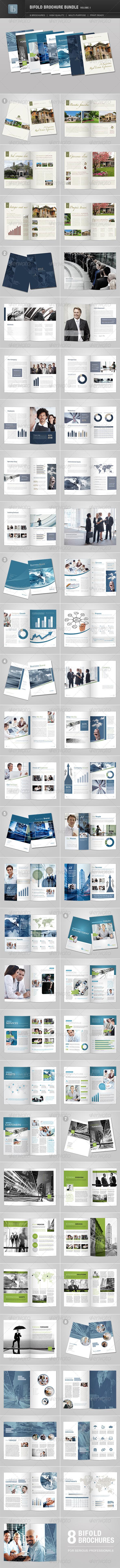 GraphicRiver Bifold Brochure Bundle Volume 1 2653901