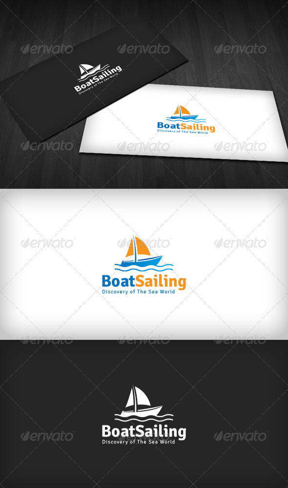 Boat Sailing Logo - Nature Logo Templates