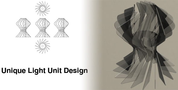 3DOcean Unique Light Unit Design 2682529