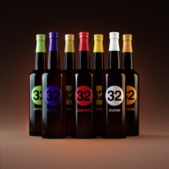 3DOcean Photorealistic 32 Via dei Birrai Beers 2704521