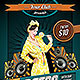 Special Retro Party Night Flyer Template - GraphicRiver Item for Sale