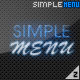 Simple Menu - ActiveDen Item for Sale