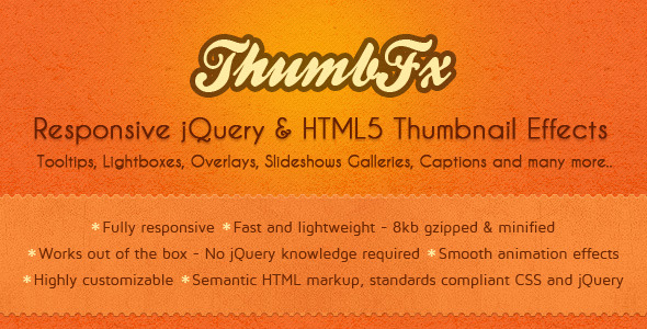 CodeCanyon ThumbFx Responsive jQuery Thumbnail Effects 2705877