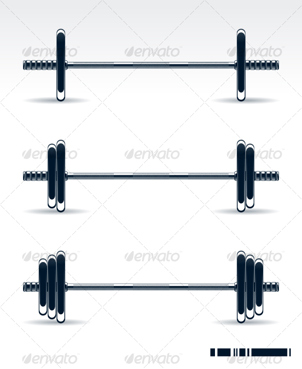 GraphicRiver Bodybuilding equipment 97941