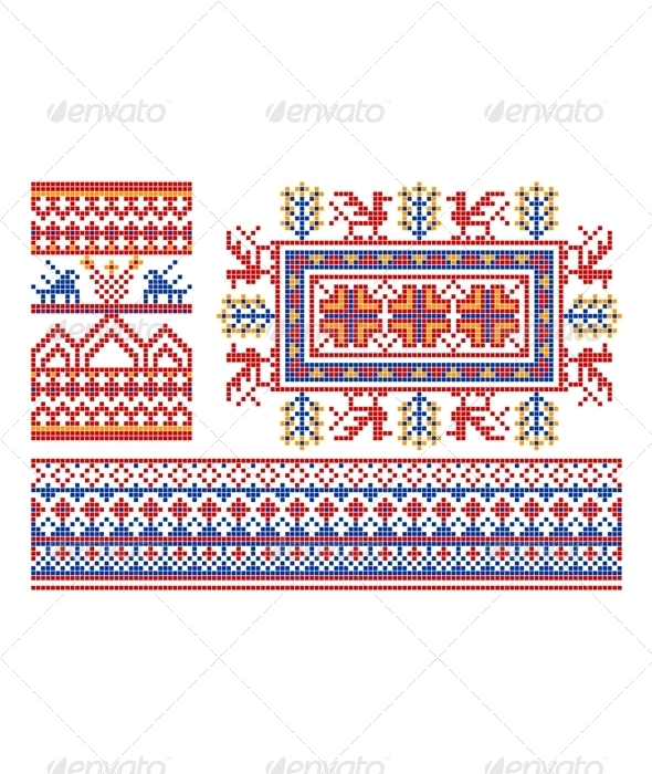 GraphicRiver Old russian ornament 2706531