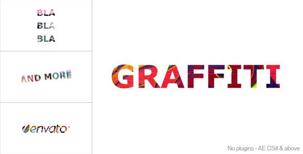VideoHive Graffiti Titles 2707972