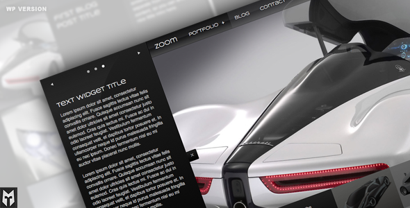 ThemeForest WordPress Zoom Portfolio & Blog 231324