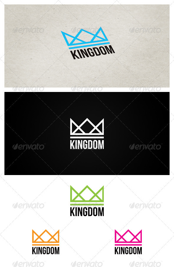 KINGDOM - Crests Logo Templates