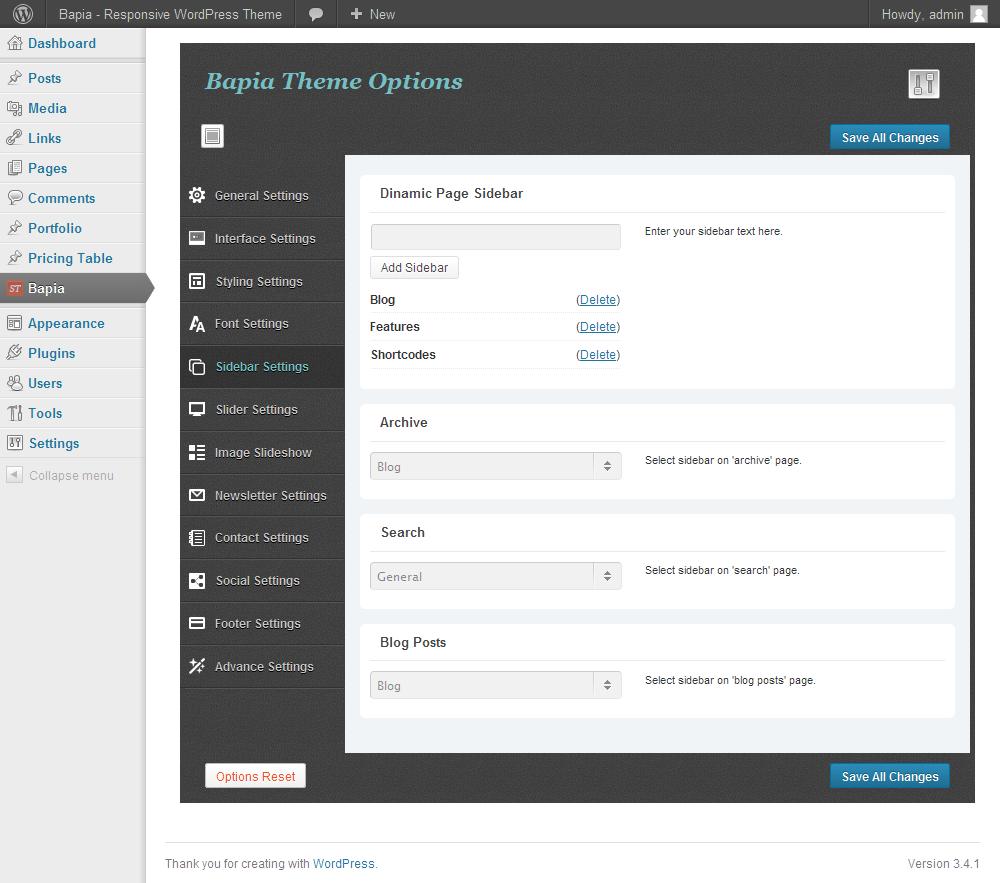 Bapia - Responsive Business WordPress Theme