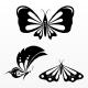 7 Decorative Butterflies - GraphicRiver Item for Sale
