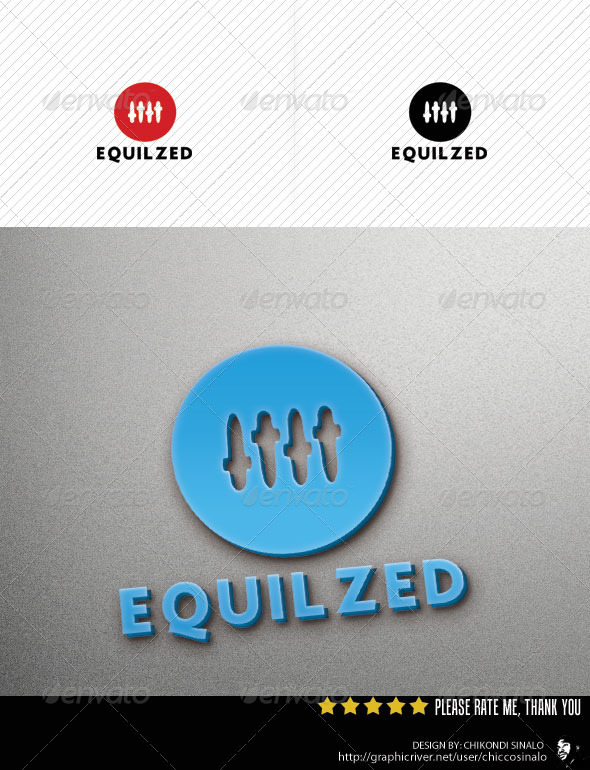 Equilized Logo Template - Objects Logo Templates
