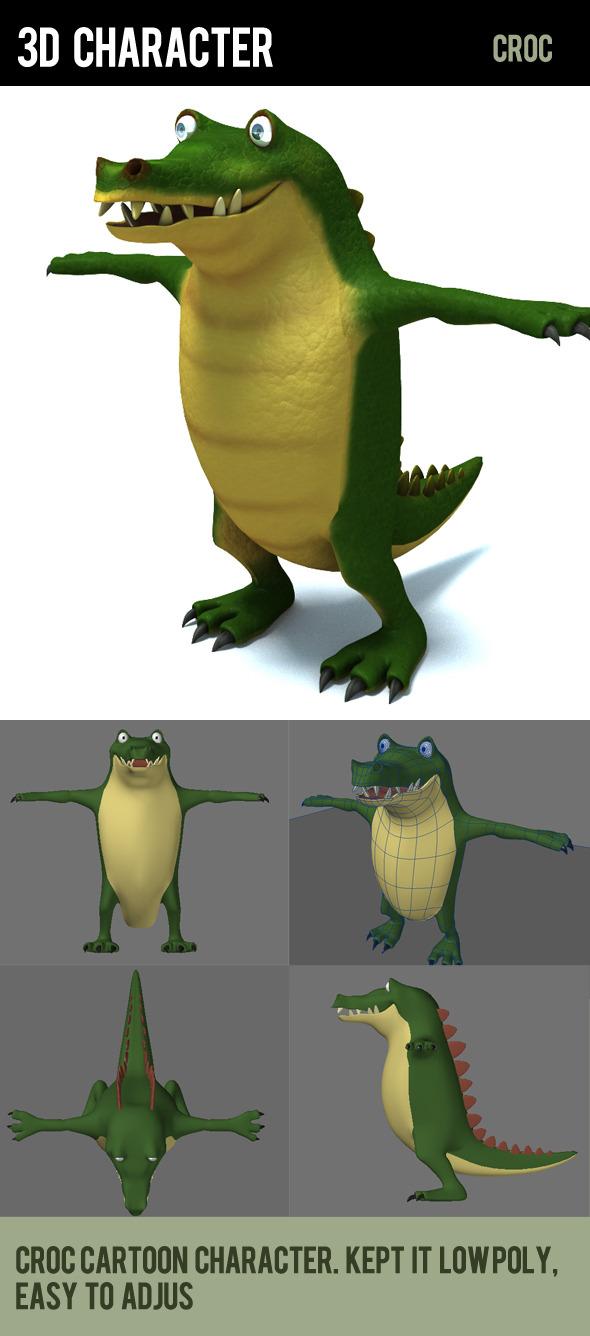 3DOcean crocodile 292412