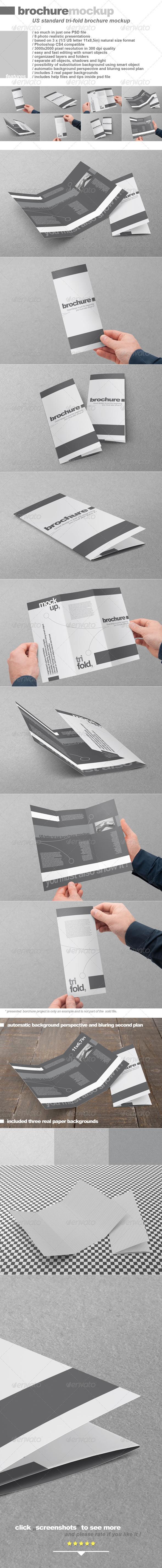 GraphicRiver Tri-Fold US Standard Brochure 2660660